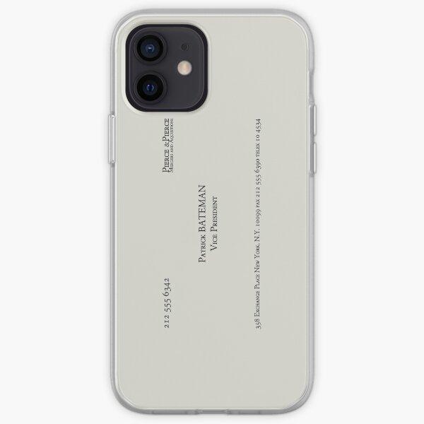 Patrick Bateman Business Card iPhone Soft Case