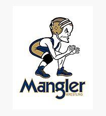 Mangler Wrestler Photographic Print