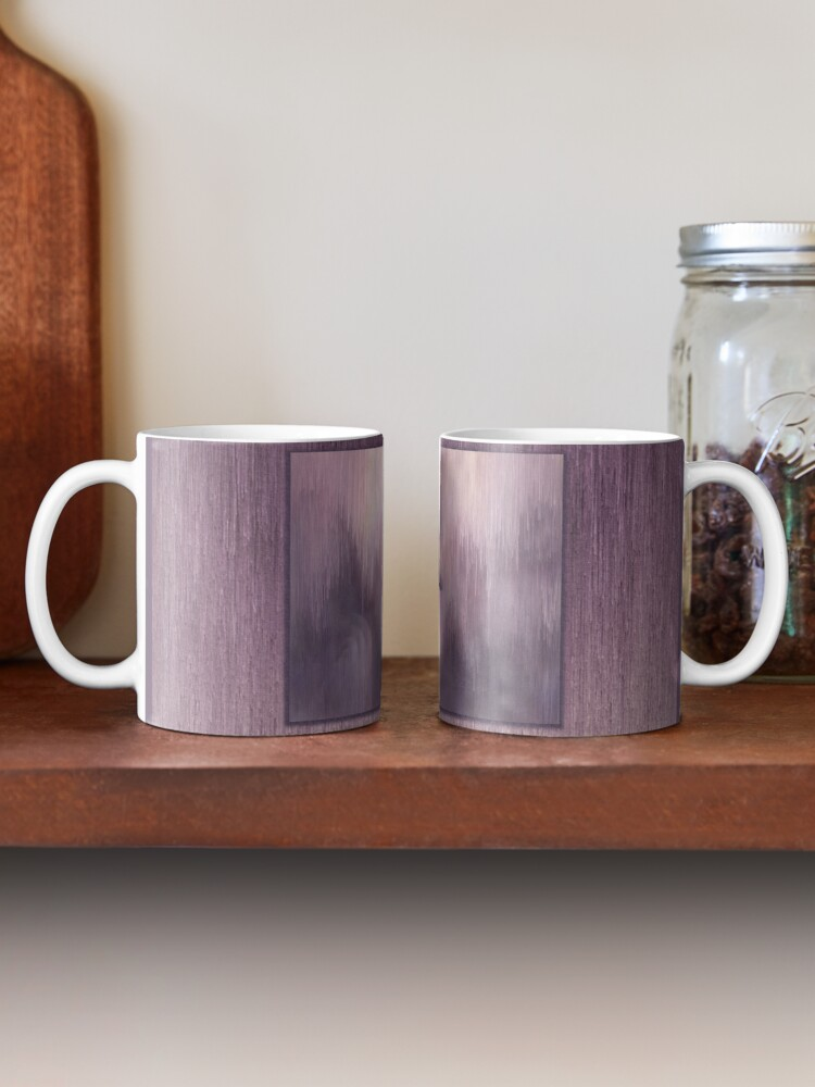 "Alternate view of ""Succumb"" (tears, sadness, giving up) painting - ""Smile"" Fine Art series Mug"