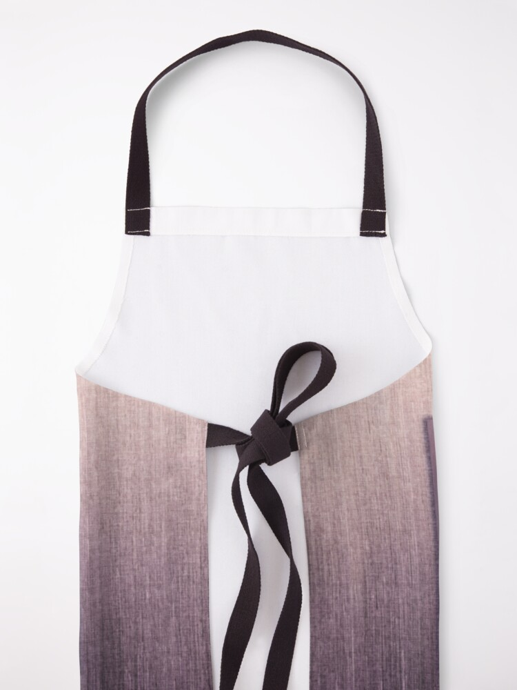 "Alternate view of ""Succumb"" (tears, sadness, giving up) painting - ""Smile"" Fine Art series Apron"