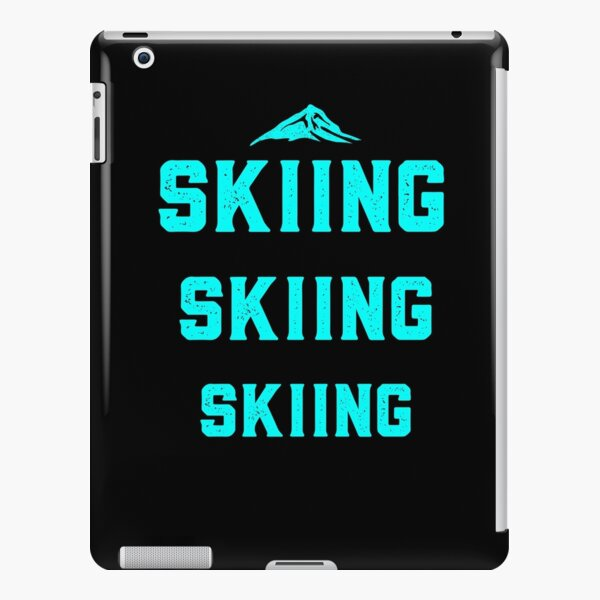 Skiing t-shirts iPad Snap Case