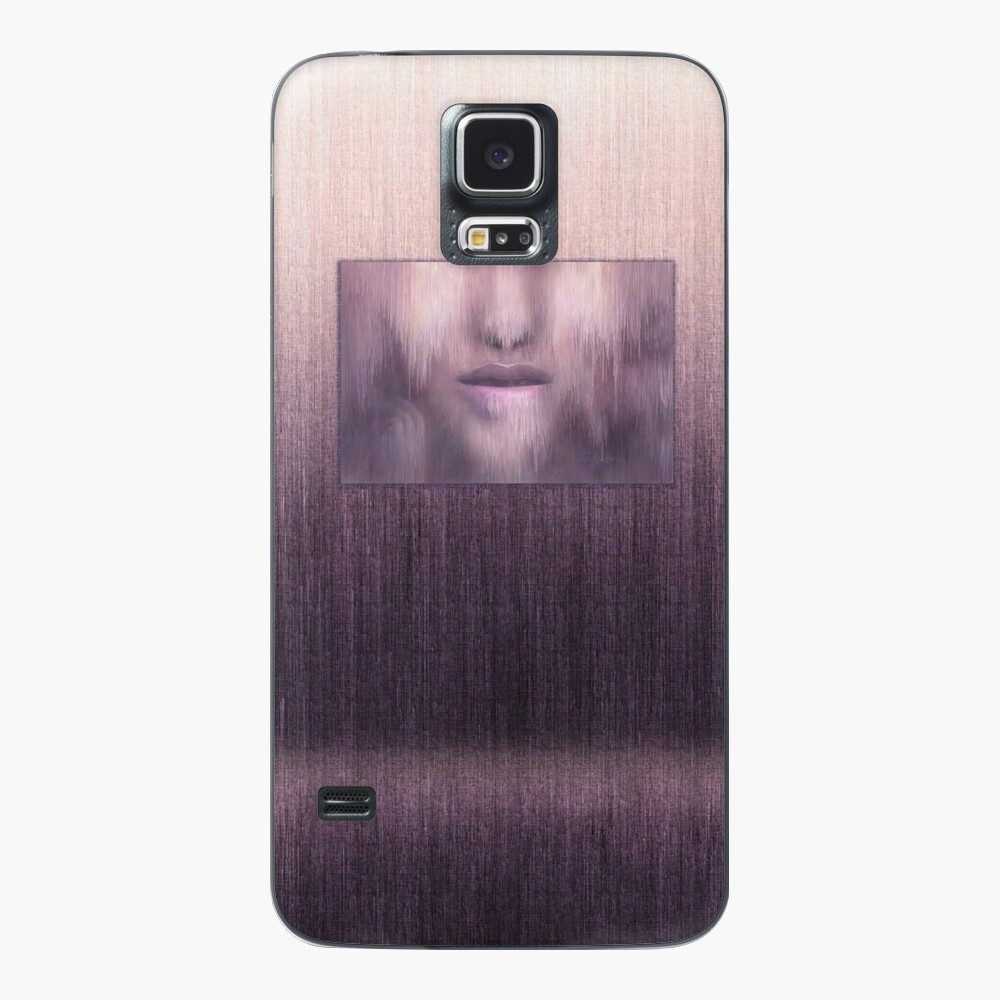 """Succumb"" (tears, sadness, giving up) painting - ""Smile"" Fine Art series Case & Skin for Samsung Galaxy"