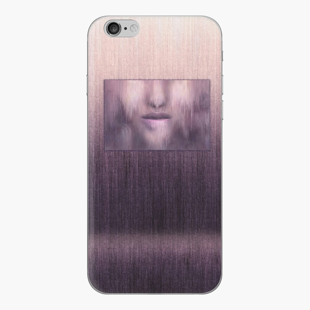 """""""Succumb"""" (tears, sadness, giving up) painting - """"Smile"""" Fine Art series iPhone Skin"""
