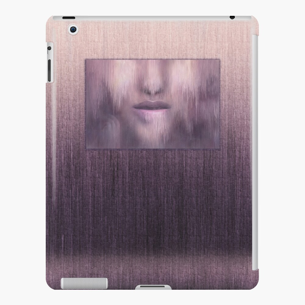 """Succumb"" (tears, sadness, giving up) painting - ""Smile"" Fine Art series iPad Case & Skin"