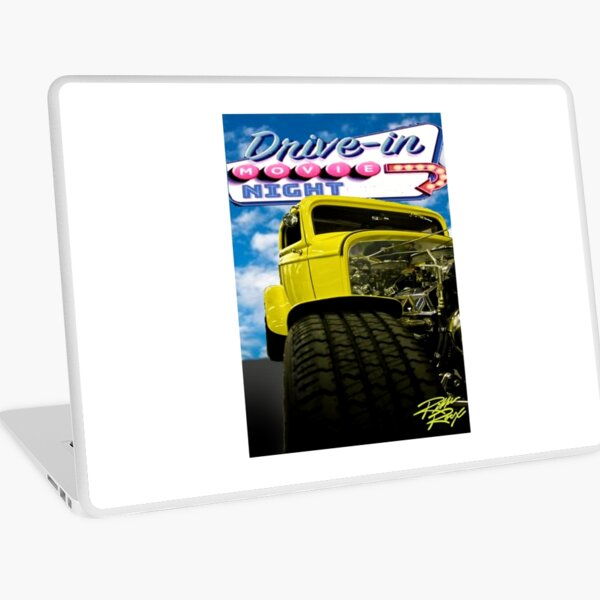 Drive-In Movie 32 Coupe Laptop Skin