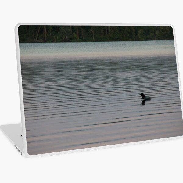 Loon on the Lake Laptop Skin
