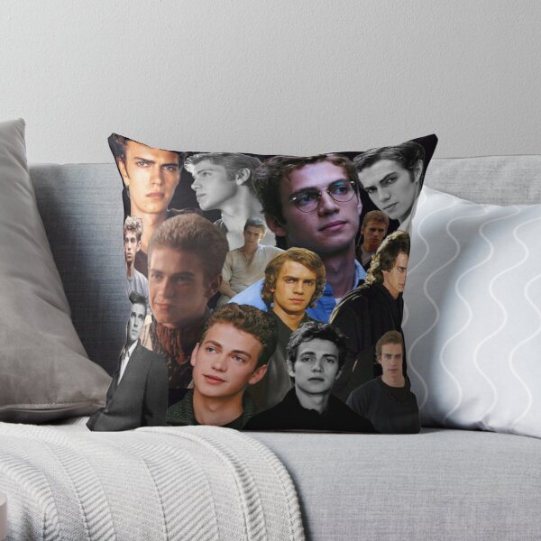 Hayden Christensen Collage Throw Pillow