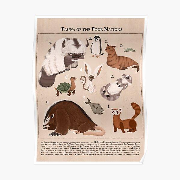 ATLA Fauna Poster