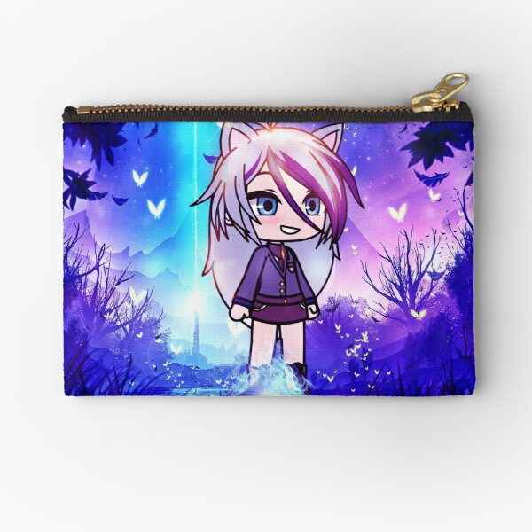 Gacha life in the magic forest Zipper Pouch