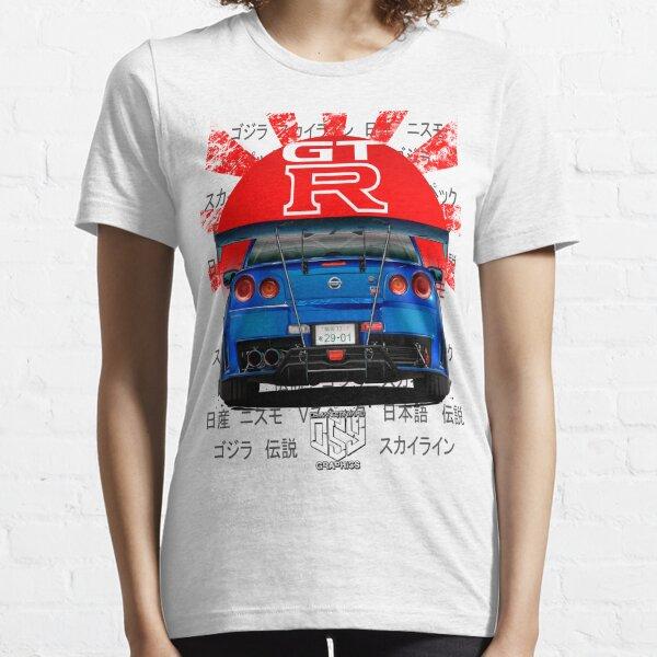 Nismo Skyline R34 (Blue) Essential T-Shirt