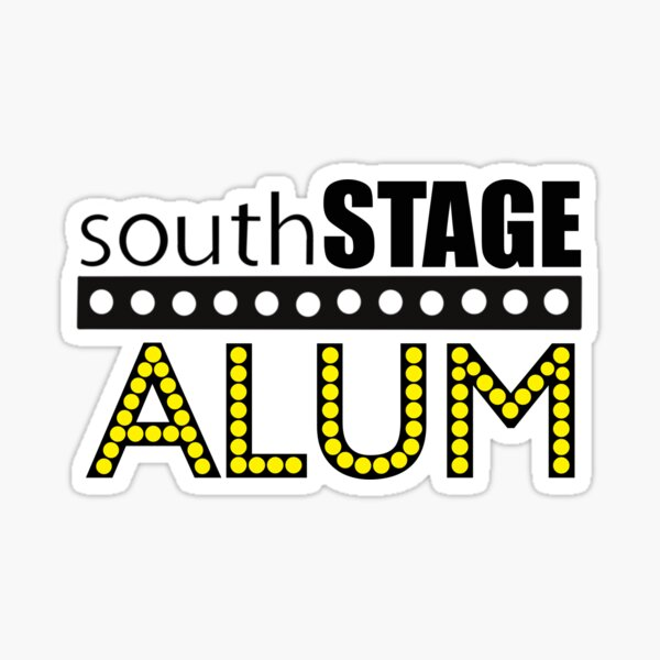 South Stage Alum Sticker