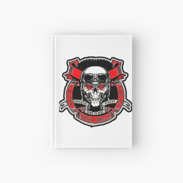 Skull Rider Hardcover Journal