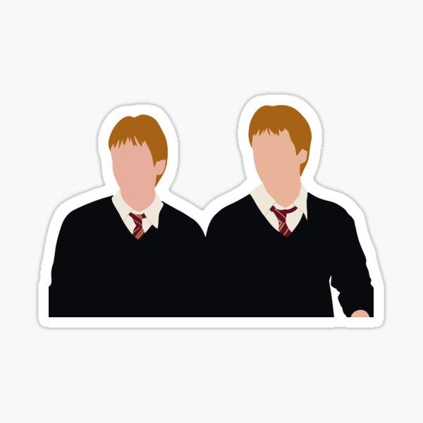 Fred y George Weasley Pegatina
