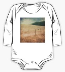 Bird On A Wire One Piece - Long Sleeve