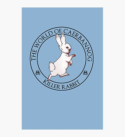 The Tale of the Killer Rabbit Photographic Print