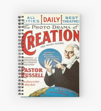 The Photo Drama of Creation Spiral Notebook