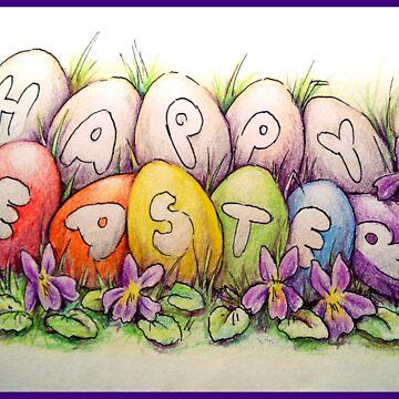 Happy Easter by Unicornuss