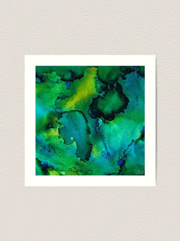 Alternate view of New Sea World Art Print