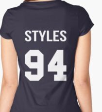 Harry Styles - College style [White] Women's Fitted Scoop T-Shirt