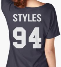 Harry Styles - College style [White] Women's Relaxed Fit T-Shirt