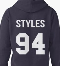 Harry Styles - College style [White] Pullover Hoodie