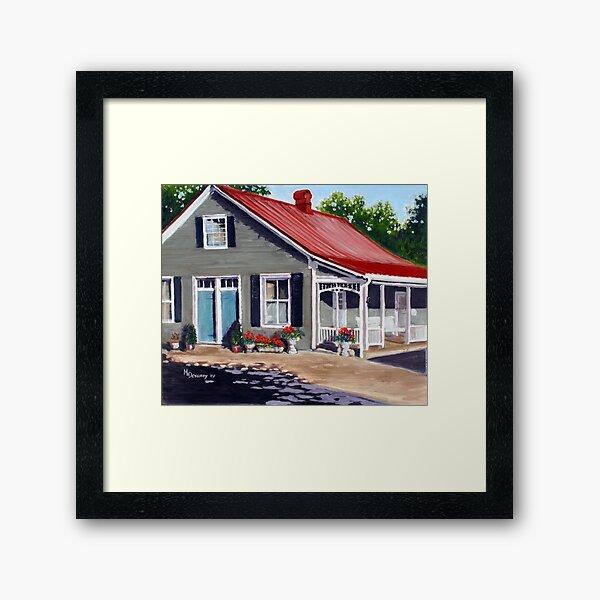Marie Laporte House - Ste Genevieve Framed Art Print