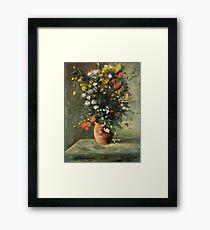 Flowers in a Vase - After Renoir Framed Print