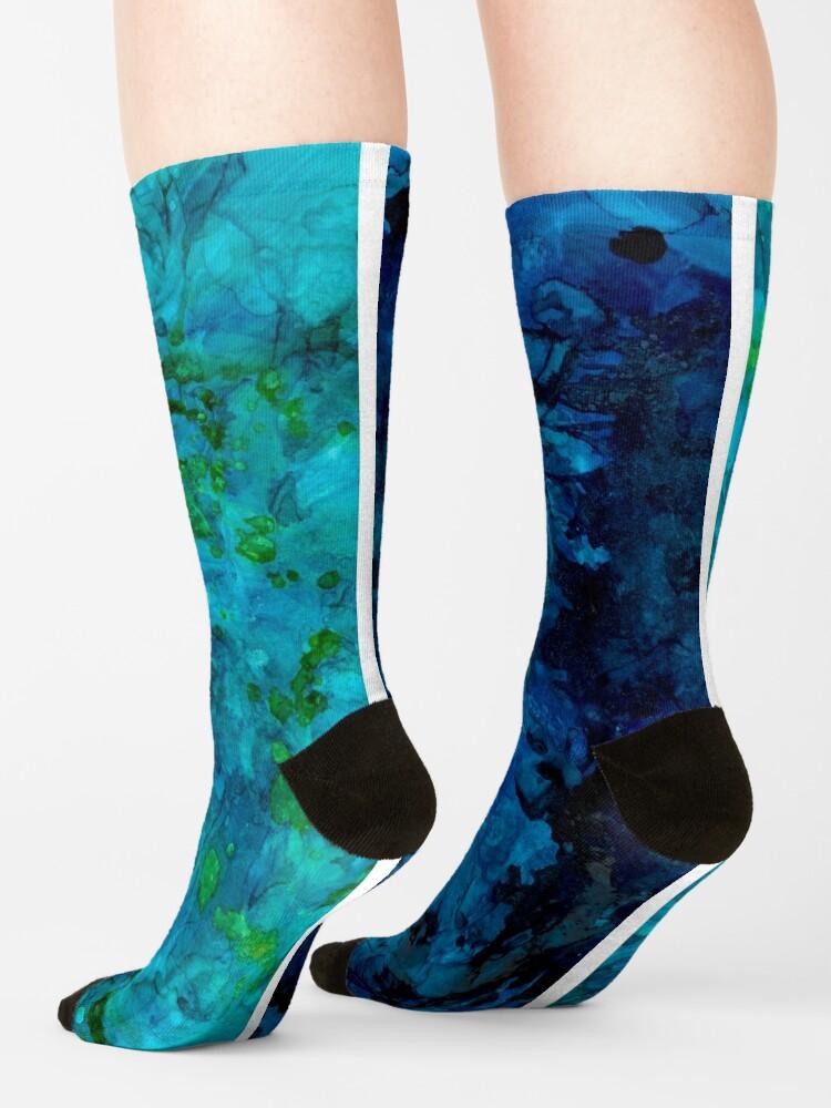 Alternate view of Water Ravine Socks