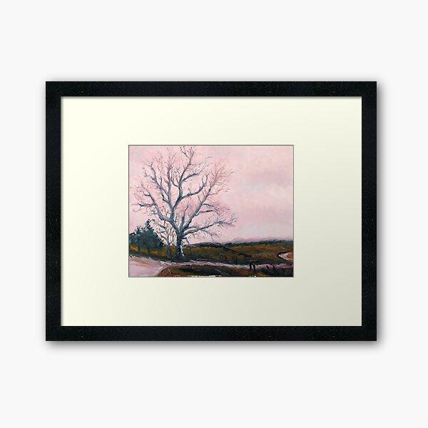 Tree on KK Highway Framed Art Print