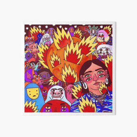 BEENE Fire on Marzz Art Board Print