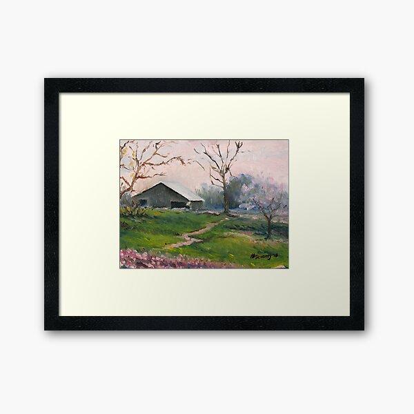 Naeger's Farm Framed Art Print