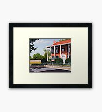 Inn Ste Gemme Beauvais Framed Print