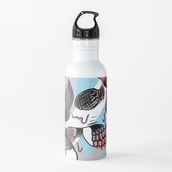 Demiboy melting skull Water Bottle