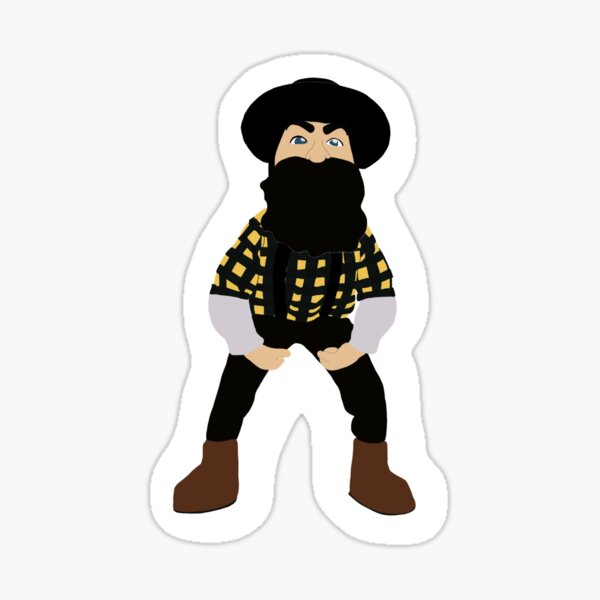 ASU Mascot Yosef Sticker