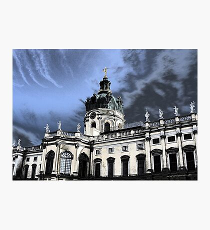 castle charlottenburg in berlin germany Photographic Print