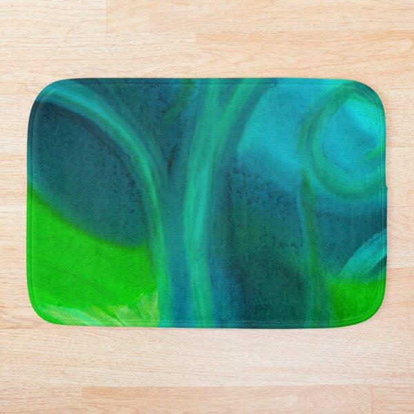 Amoeba Swirl Bath Mat