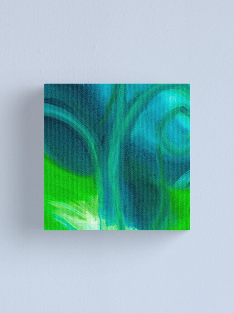 Alternate view of Amoeba Swirl Canvas Print
