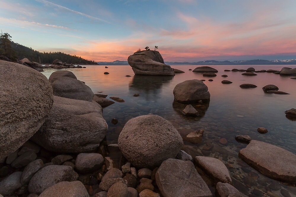 The East Shore - Lake Tahoe by Richard Thelen