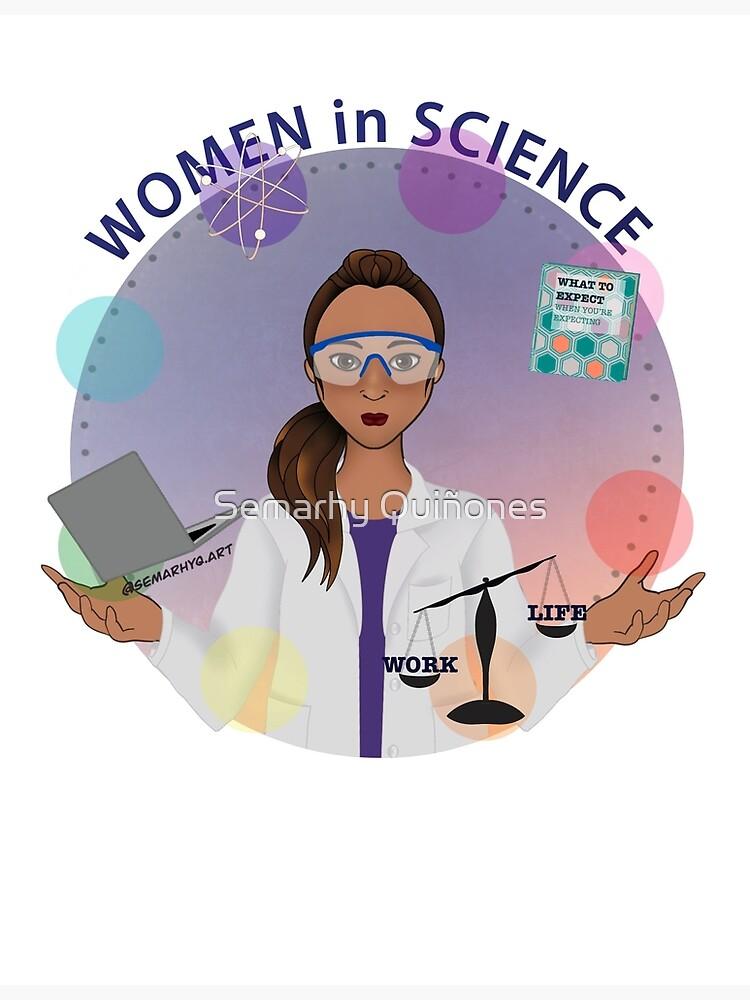 Women in Science (the Juggler) by semarhy