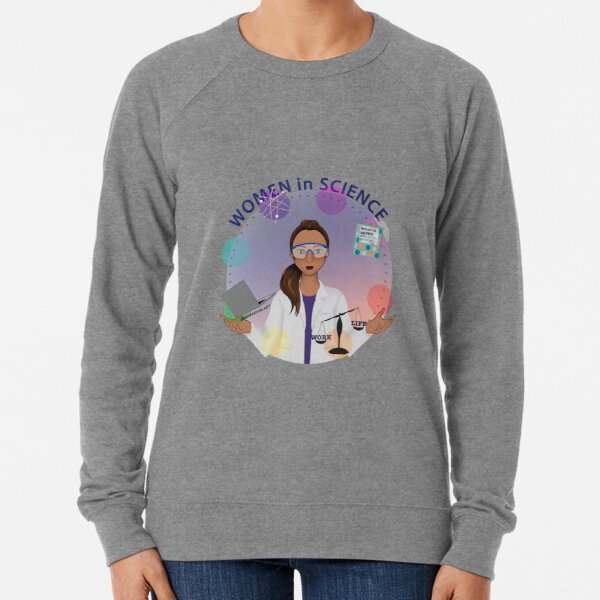 Women in Science (the Juggler) Lightweight Sweatshirt