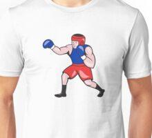 Amateur Boxer Boxing Cartoon Unisex T-Shirt