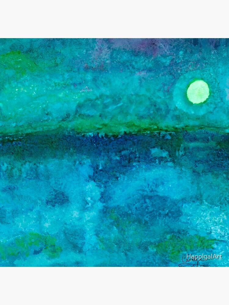 Night Ocean by HappigalArt