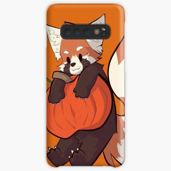 Red Panda Pumpkin Halloween  Samsung Galaxy Snap Case
