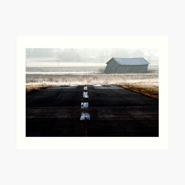 19.4.2014: Runway Art Print