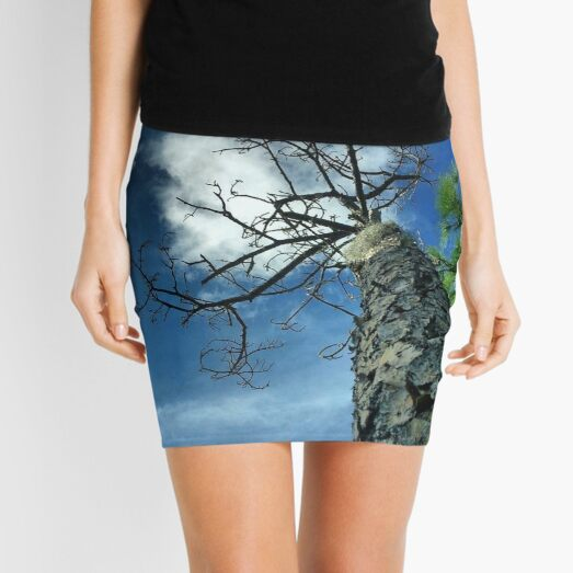 Sky Trap Mini Skirt