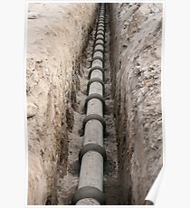 Sewer Line Poster