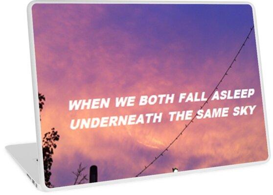 """""""Underneath the same sky"""" by thetaylahe"""