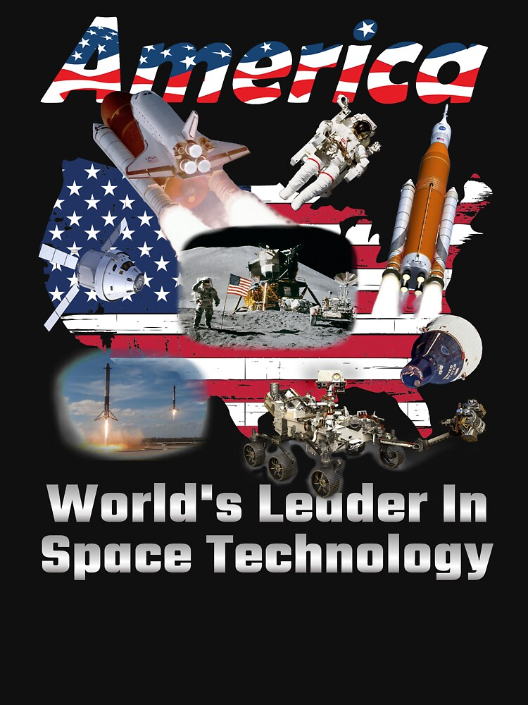 America Leads the World in Space Tech by mikepil
