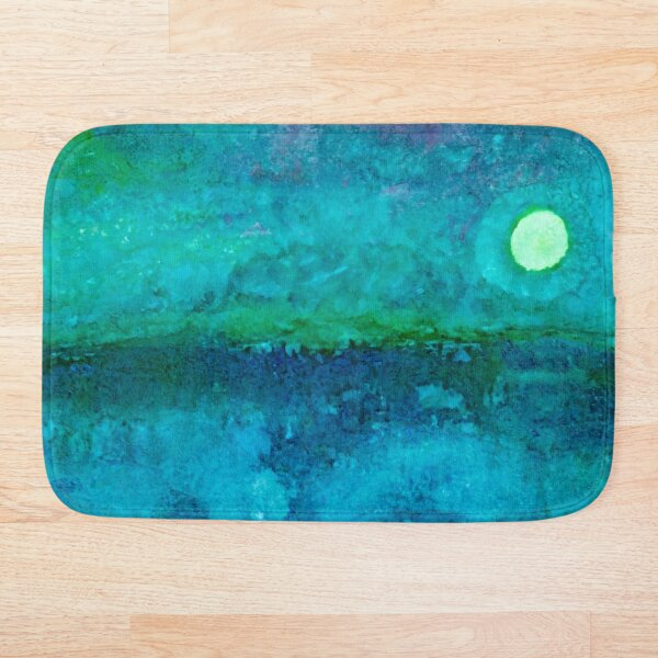 Night Ocean Bath Mat