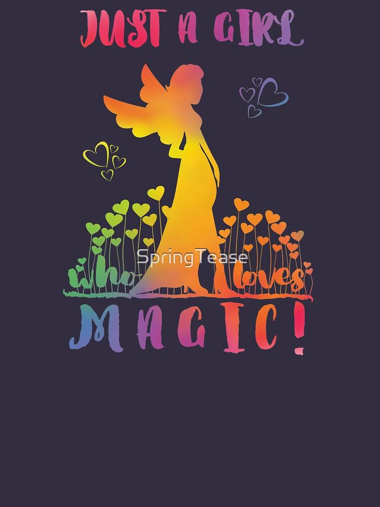 Just a Girl who loves Magic - Rainbow Fairy Hearts by SpringTease